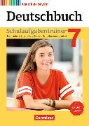 Cover-Bild zu Deutschbuch - Realschule 7. Schuljahr. Neubearbeitung. Schulaufgabentrainer mit Lösungen. BY von Bildl, Gertraud