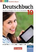 Cover-Bild zu Deutschbuch - Realschule 10. Schuljahr. Handreichungen für den Unterricht, Kopiervorlagen und CD-ROM. BY von Bildl, Gertraud