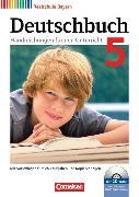 Cover-Bild zu Deutschbuch - Realschule 5. Schuljahr. Handreichungen für den Unterricht mit CD-ROM. BY von Bildl, Gertraud