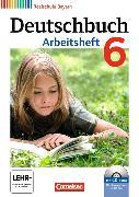 Cover-Bild zu Deutschbuch - Realschule 6. Schuljahr. Arbeitsheft mit CD-ROM. BY von Aigner-Haberstroh, Elke