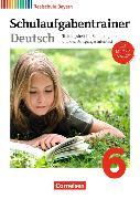 Cover-Bild zu Deutschbuch - Realschule 6. Schuljahr. Schulaufgabentrainer. BY von Bildl, Gertraud