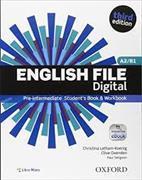 Cover-Bild zu English File Pre-Intermediate Print Student's Book and Workbook / Workbook Key Booklet / Entry Checker von Latham-Koenig, Christina