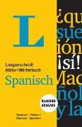 Cover-Bild zu Langenscheidt Abitur-Wörterbuch Spanisch - Buch und App von Langenscheidt, Redaktion (Hrsg.)