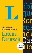 Cover-Bild zu Langenscheidt Abitur-Wörterbuch Latein-Deutsch - Buch mit Online-Anbindung von Langenscheidt, Redaktion (Hrsg.)