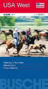 Cover-Bild zu USA West. 1:2'200'000