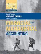 Cover-Bild zu Working Papers, Volume 1, to Accompany Weygandt Financial & Managerial Accounting von Weygandt, Jerry J.