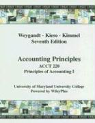 Cover-Bild zu Accounting Principles: ACCT 220 Principles of Accounting 1 von Weygandt, Jerry J.
