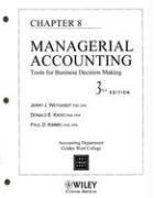 Cover-Bild zu Managerial Accounting: Tools for Business Decision Making, Chapter 8 von Weygandt, Jerry J.