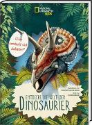 Cover-Bild zu Banfi, Cristina: Was versteckt sich dahinter? Entdecke die Welt der Dinosaurier