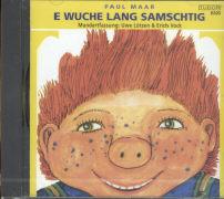 Cover-Bild zu Maar, Paul: SAMS - E Wuche lang Samschtig