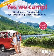 Cover-Bild zu eBook HOLIDAY Reisebuch: Yes we camp! Europa