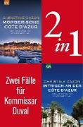 Cover-Bild zu Cazon, Christine: Zwei Fälle für Kommissar Duval (2in1-Bundle) (eBook)