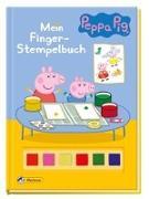 Cover-Bild zu Peppa: Mein Finger-Stempelbuch
