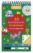 Cover-Bild zu Mein Ruckzuck-Rätselblock: 45 kunterbunte Knobeleien rund um Weihnachten