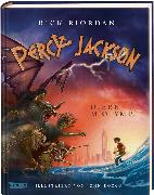 Cover-Bild zu Percy Jackson - Diebe im Olymp (farbig illustrierte Schmuckausgabe) (Percy Jackson 1)