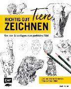 Cover-Bild zu Richtig gut zeichnen - Tiere