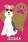 Cover-Bild zu Love, Foxy: Foxy Life Jessica: College Ruled Composition Book Diary Lined Journal