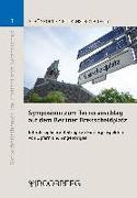 Cover-Bild zu Schönrock, Sabrina (Hrsg.): Symposium zum Terroranschlag auf dem Berliner Breitscheidplatz