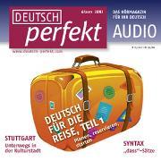 Cover-Bild zu Kuhrt, Henriette: Deutsch lernen Audio - Deutsch für die Reise (Audio Download)
