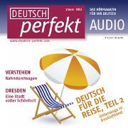 Cover-Bild zu Kuhrt, Henriette: Deutsch lernen Audio - Deutsch für die Reise, Teil 2 (Audio Download)