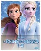 Cover-Bild zu Buck, Chris (Reg.): La Reine des Neiges 1 & 2 Multipack Steelbook