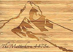 Cover-Bild zu PK Bambus The Matterhorn Swiss Icons 107