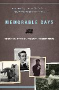 Cover-Bild zu Salter, James: Memorable Days