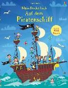 Cover-Bild zu Watt, Fiona: Mein Stickerbuch: Auf dem Piratenschiff