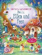 Cover-Bild zu Watt, Fiona: Mein funkelndes Stickerbuch: Bei den Elfen und Feen