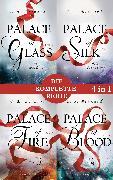 Cover-Bild zu Die Palace-Saga Band 1-4: - Palace of Glass / Palace of Silk / Palace of Fire / Palace of Blood (4in1-Bundle) (eBook) von Bernard, C. E.