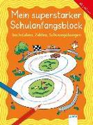 Cover-Bild zu Buchstaben, Zahlen, Schwungübungen von Merle, Katrin