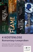 Cover-Bild zu 4 kostenlose Romantasy-Leseproben (eBook) von Dippel, Julia