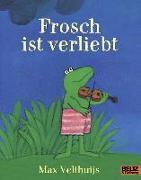 Cover-Bild zu Frosch ist verliebt von Velthuijs, Max