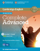 Cover-Bild zu Cambridge English Complete Advanced. Student's Book with Answers von Brook-Hart, Guy