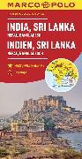 Cover-Bild zu Indien, Sri Lanka. 1:2'500'000