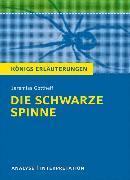 Cover-Bild zu Jeremias Gotthelf: Die schwarze Spinne von Gotthelf, Jeremias