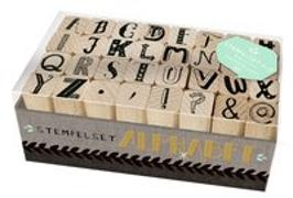 Cover-Bild zu Holzstempel-Set - Alphabet