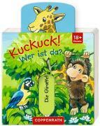 Cover-Bild zu Kuckuck! Wer ist da? von Flad, Antje (Illustr.)