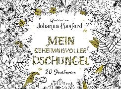 Cover-Bild zu Mein geheimnisvoller Dschungel von Basford, Johanna