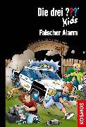 Cover-Bild zu Die drei ??? Kids, 85, Falscher Alarm (drei Fragezeichen Kids) (eBook) von Pfeiffer, Boris