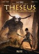 Cover-Bild zu Mythen der Antike: Theseus und der Minotaurus (Graphic Novel) von Ferry, Luc