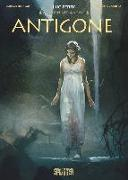 Cover-Bild zu Mythen der Antike: Antigone (Graphic Novel) von Ferry, Luc