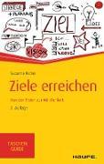 Cover-Bild zu Ziele erreichen (eBook) von Nickel, Susanne