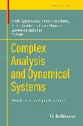 Cover-Bild zu Complex Analysis and Dynamical Systems (eBook) von Agranovsky, Mark (Hrsg.)