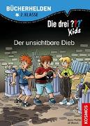 Cover-Bild zu Die drei ??? Kids, Bücherhelden 2. Klasse, Der unsichtbare Dieb von Blanck, Ulf