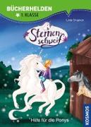 Cover-Bild zu Sternenschweif, Bücherhelden 1. Klasse, Hilfe für die Ponys (eBook) von Chapman, Linda