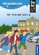 Cover-Bild zu Die drei !!!, Bücherhelden 2. Klasse, Alarm in der Schule von Ambach, Jule