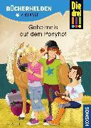 Cover-Bild zu Die drei !!!, Bücherhelden 2. Klasse, Geheimnis auf dem Ponyhof (drei Ausrufezeichen) (eBook) von Ambach, Jule