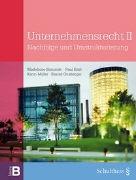 Cover-Bild zu Unternehmensrecht II von Simonek, Madeleine