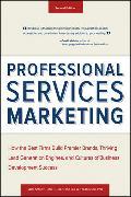 Cover-Bild zu Professional Services Marketing von Schultz, Mike